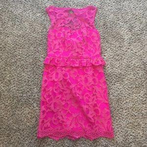 Lilly Pulitzer Pink Kiri Mambo Dress